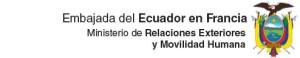 Embajada de Ecuador en Francias